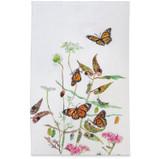 flight of the monarchs tea towel