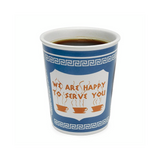 we are happy to serve you ceramic cups