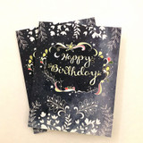 starry birthday card