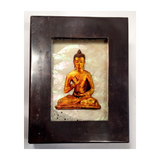 buddha reliquary copper box