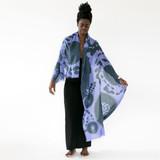 cashmere + merino | bloom  scarf