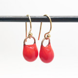 large droplet earrings