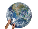 round earth puzzle