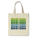 mount kisco tote | blue green