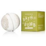 seaweed + sea salt bath bomb
