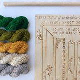 DIY tapestry kit | forest