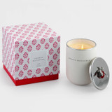 ruby bee candle