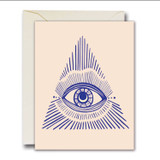 blue vision card