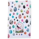 bird terrarium tea towel