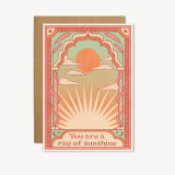 you are a ray of sunshine card