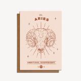 zodiac card: aries