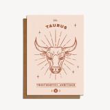 zodiac card: taurus