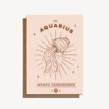 zodiac card: aquarius