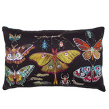 insects in black pillow
