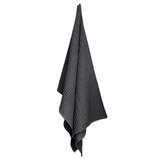 big waffle towel or blanket / grey