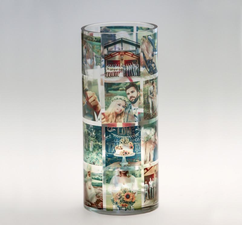 CUSTOM Cylinder Memory Vase