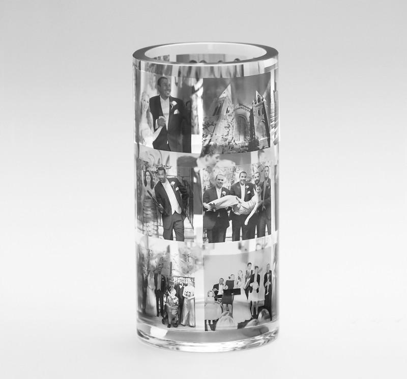 CUSTOM Petite Cylinder Memory Vase