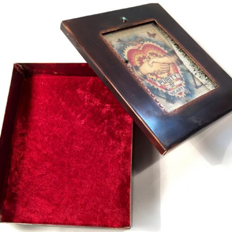 Purity of Heart Reliquary Box