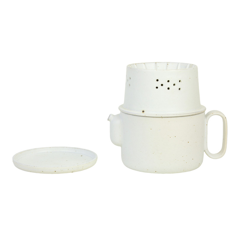 ceramic tea & coffee pot