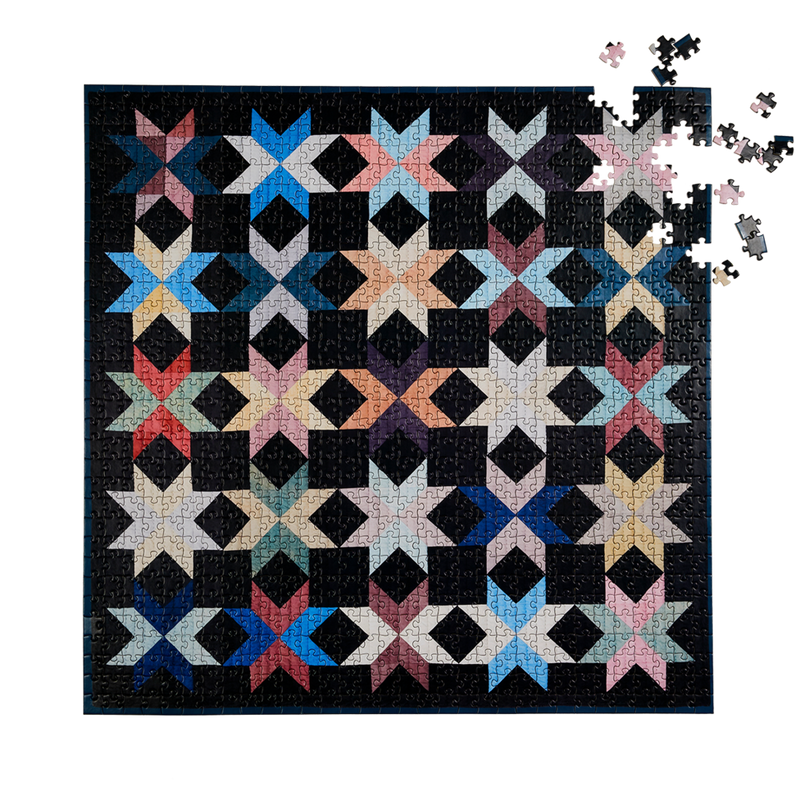 New York quilt   1000 piece puzzle