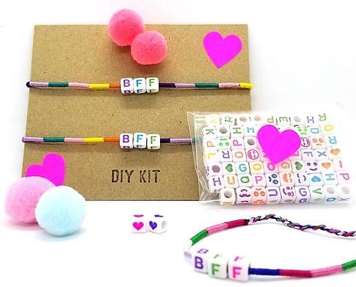 DIY BFF pom pom bracelet kit
