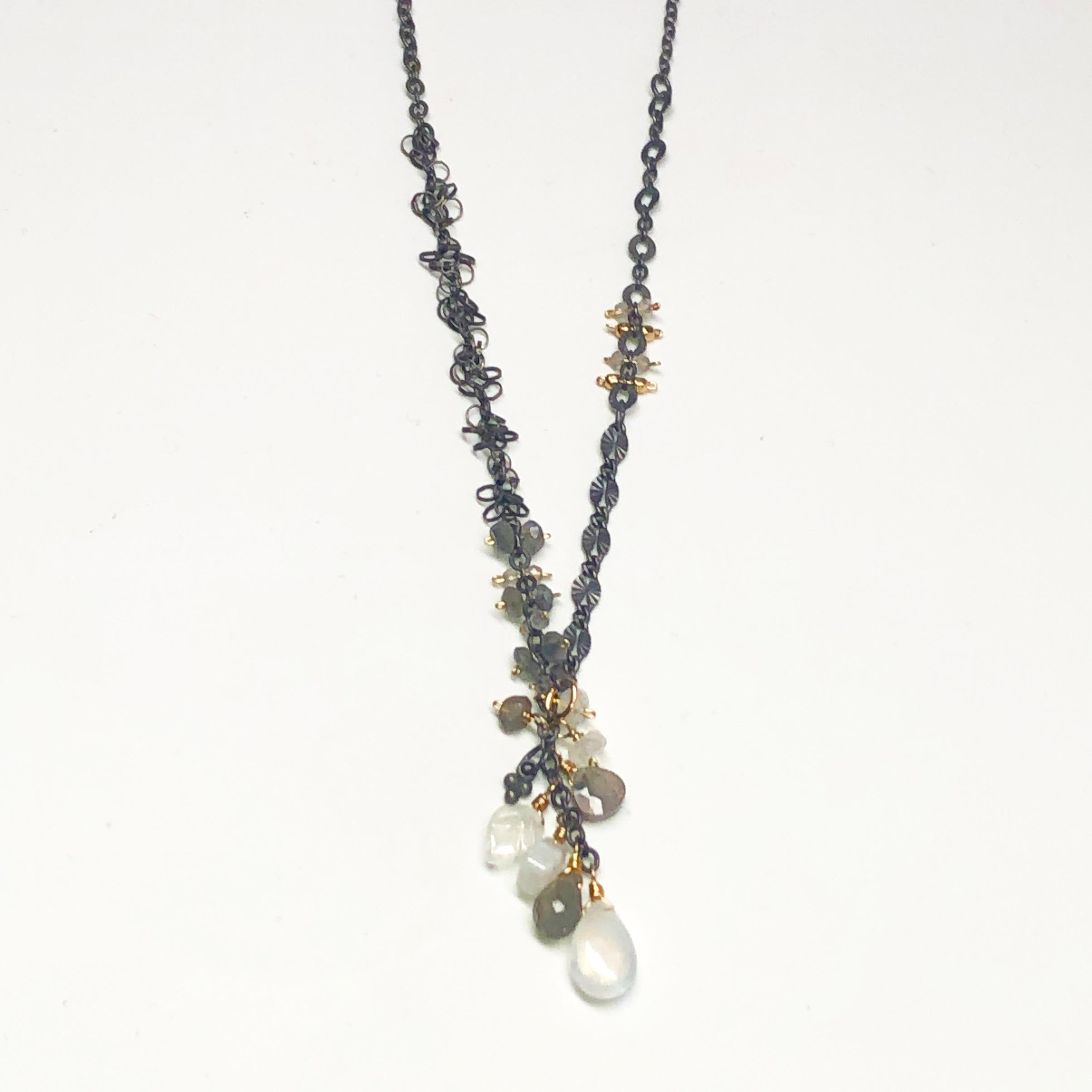 calliope cluster necklace