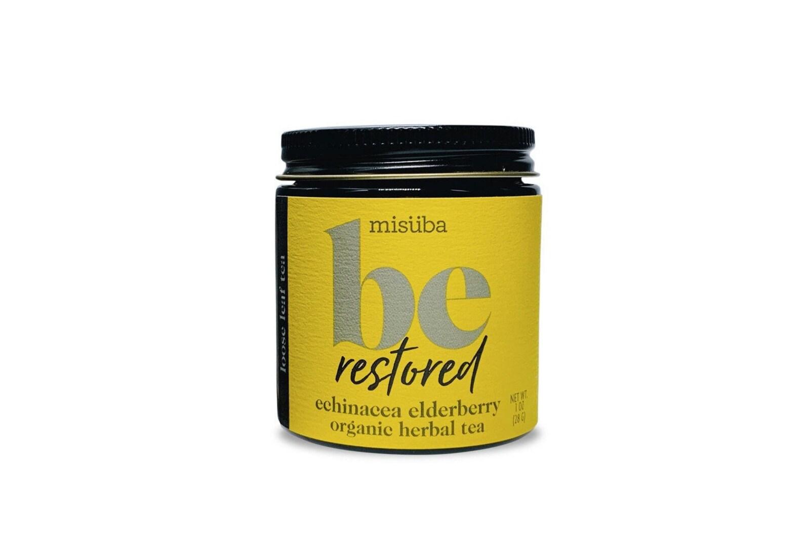 be restored | echinacea + elderberry tea