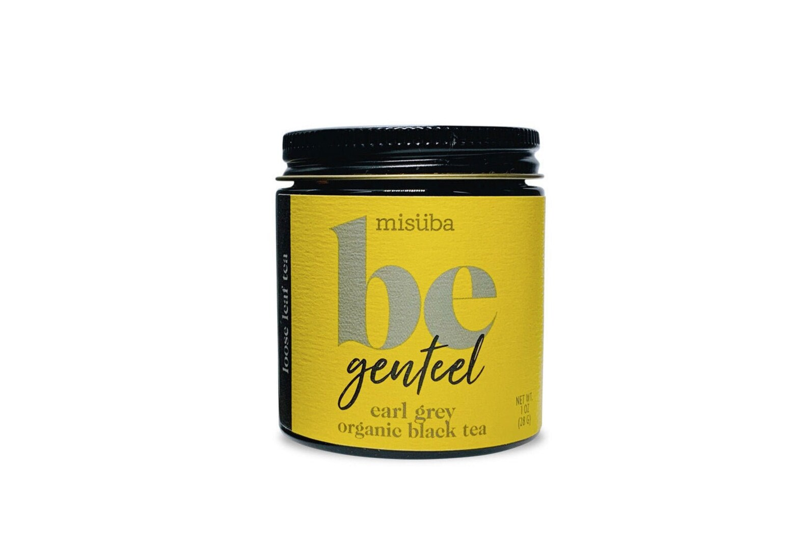 be genteel | organic earl grey tea