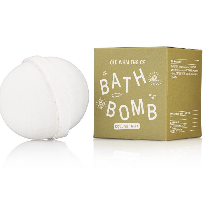 coconut milk bath bomb