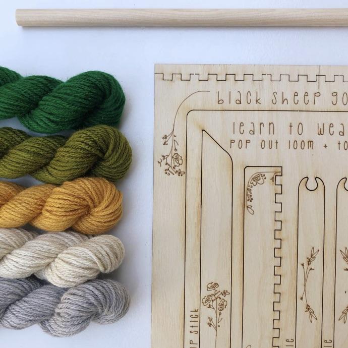 DIY tapestry kit | forest