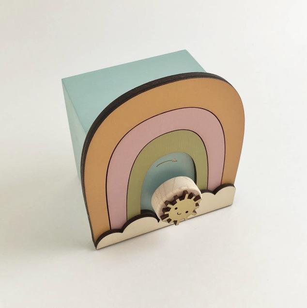 rainbow music box