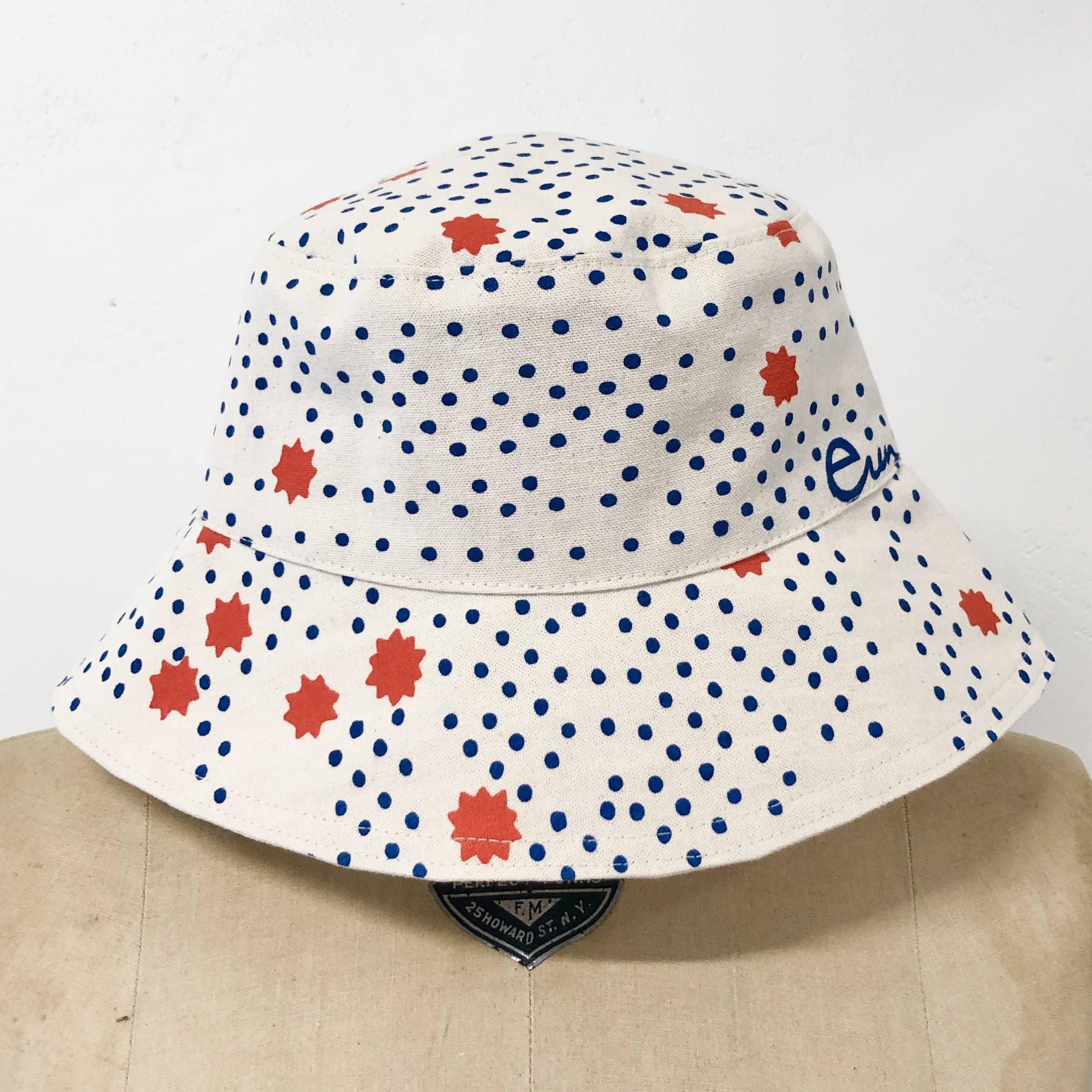 royal night sky bucket hat