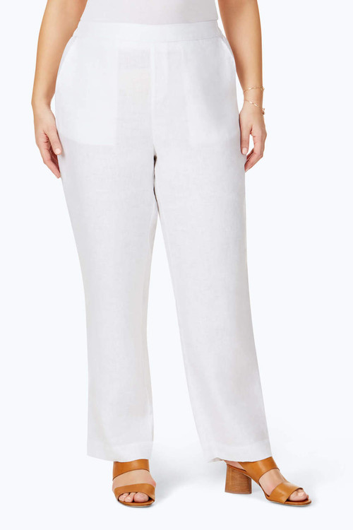 Livingston Plus Linen Pant