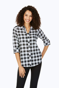 Dara Relaxed Fit Gingham Tunic