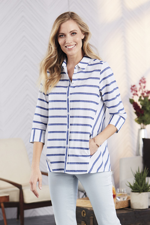 Carlene Nautical Stripe Tunic