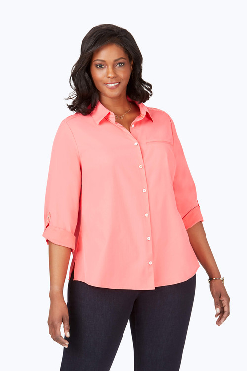 Reese Plus Wrinkle-Free UPF Shirt