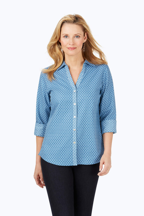 Mary Geo Jacquard Shirt