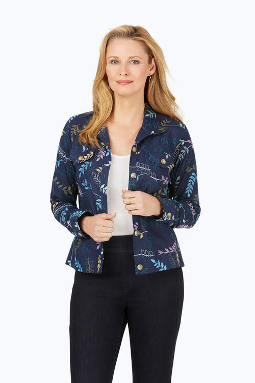 The Getaway Embroidered Jacket