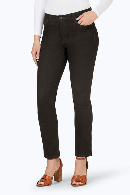 The Downtown Straight Leg Stretch Jeans