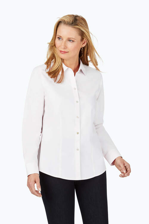 Dianna Non-Iron Pinpoint Shirt