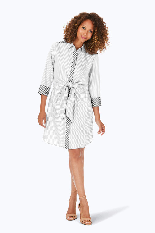 Melbourne Wrinkle-Free Wrap Tie Dress