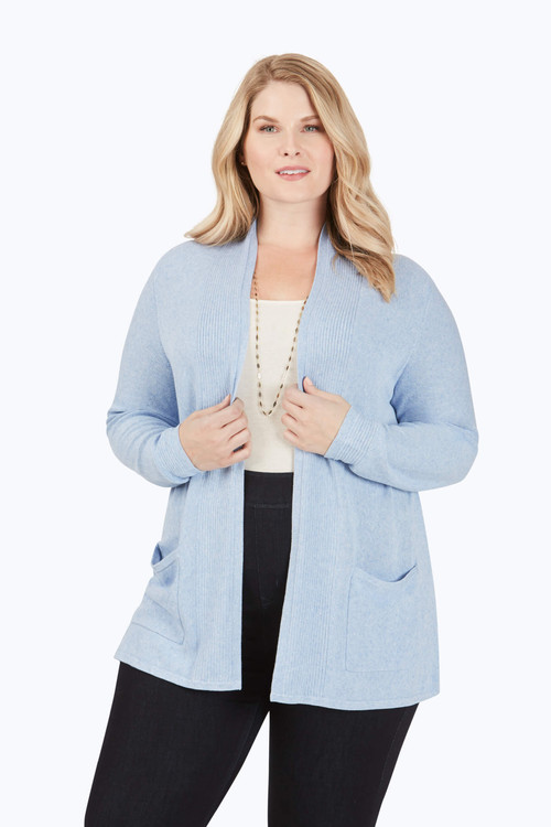 Nolita Plus Textured Cardigan