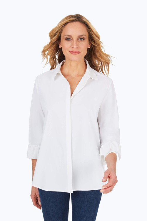 Milan Easy-Care Stretch Shirt