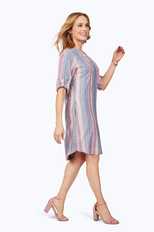 Harmony Petite Beachcomber Stripe Dress