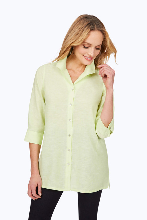 Stirling Non-Iron Linen Tunic