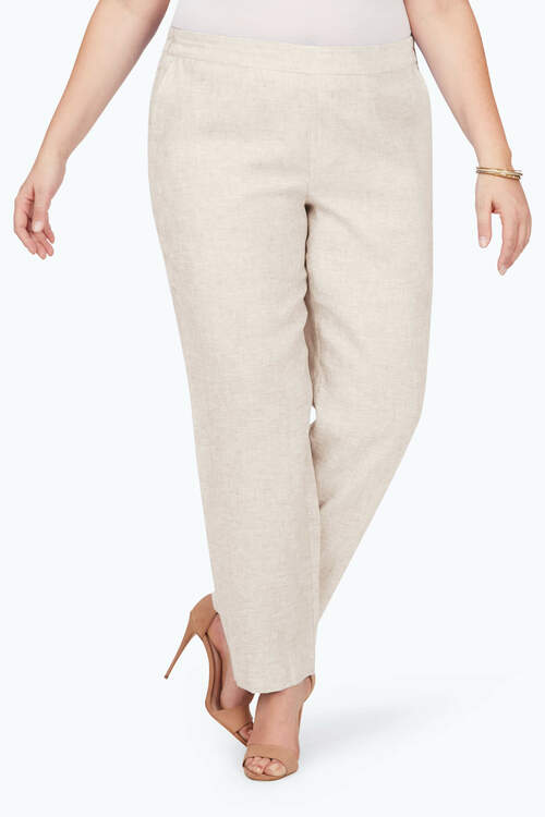 Livingston Plus Linen Pants
