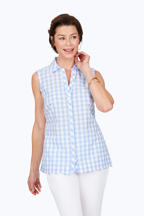 Lilith Non-Iron Gingham Shirt