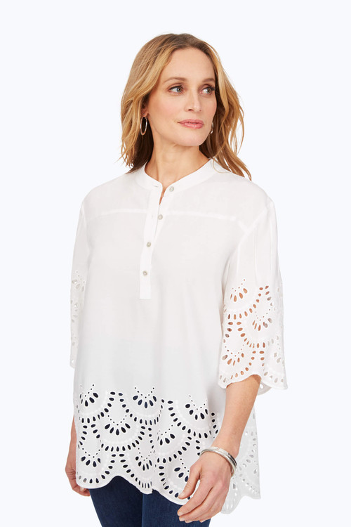 Bailey Embroidered Tunic