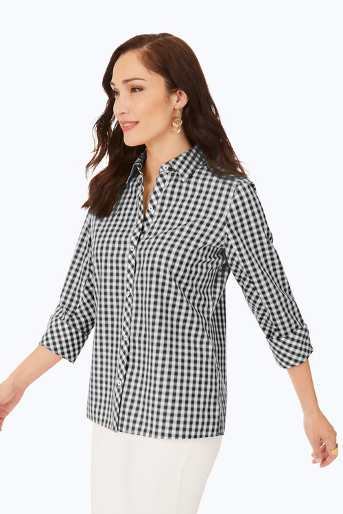 Britten Non-Iron Gingham Shirt