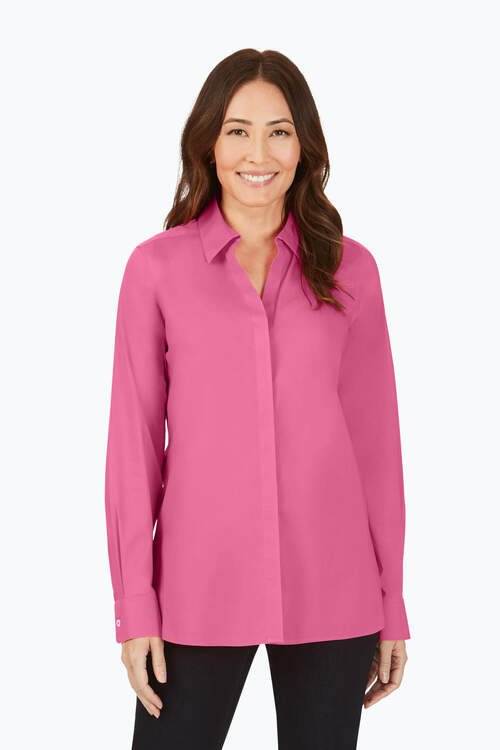 Kylie Petite Stretch Non-Iron Shirt